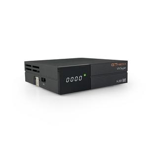 Image 2 - GTmedia V9 סופר DVB S2 לווין מקלט תמיכת H.265 אותו gtmedia v8 nova freesat v8 סופר built WiFi להגדיר תיבה עליונה