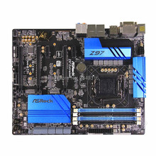 Используется слот LGA1150 Z97 материнская плата для ASRock Z97 extreme 6 настольная плата USB3.0 SATA3 DDR3