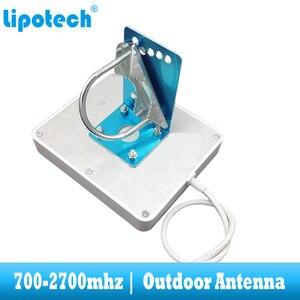 Image 4 - 8dbi 700 2700 Mhz 2G 3G 4G na zewnątrz antena panelowa GSM CDMA WCDMA UMTS Repeater antenowy LTE wzmacniacz/wzmacniacz anteny zewnętrznej