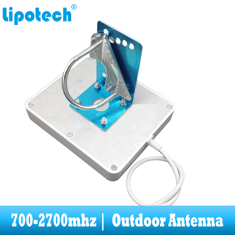 Image 4 - 8dbi 700 2700Mhz 2G 3G 4G Outdoor Panel Antenna GSM CDMA WCDMA UMTS Repeater Antenna  LTE Booster / amplifier External Antenna-in Signal Boosters from Cellphones & Telecommunications