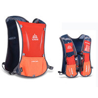 Outdoor Bag Running Backpack Women Men Lightweight Sports Trail Racing Marathon Hiking Fitness Bag Hydration Nylon Vest Pack