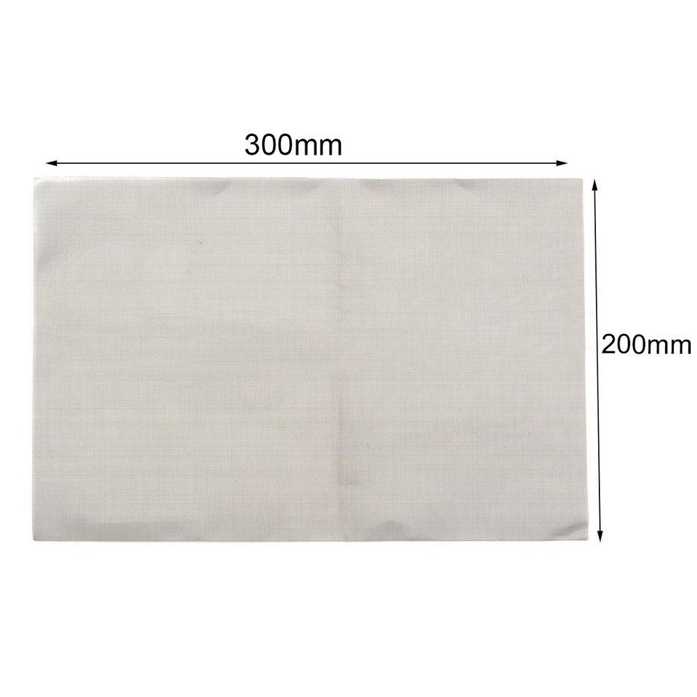 1pc 180/300/325/400 Mesh Stainless Steel Woven Wire Mayitr Durable Silver Screening Sheet Filter 30cm*20cm 50 mesh filtration woven wire 304 stainless steel screening filter 40 x 90cm silver