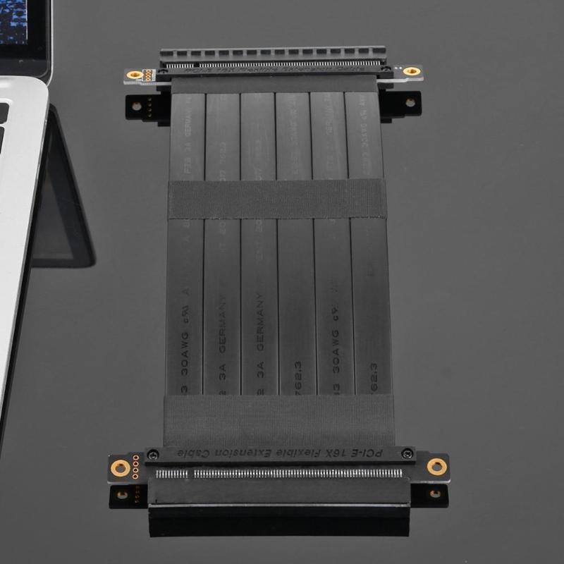 Image 5 - VODOOL высокоскоростные гибкие кабели PCI Express 36Pin Gen3 16X удлинитель «Мама мама» кабель с разъемом для корпуса 1U, 2U on AliExpress - 11.11_Double 11_Singles' Day