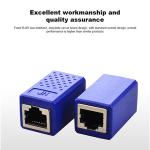 Image 5 - RJ45 Connector Cat7/6/5e Ethernet Cable Adapter 8P8C rj45 Network Extender Extension Cable for Ethernet Cable Female to Female