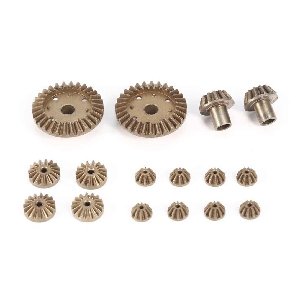 Metalen Front Achter Differentieel/Motor Rijden Gear Upgrade Reparatie Onderdelen voor WLtoys 12428 12423 1/12 RC Auto (2T 24T 30 T)