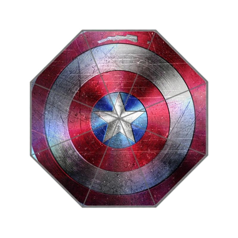 Moda Dizaynı Şemsiyesi Xüsusi Superhero Kapitan Amerika Kişi və - Ev əşyaları - Fotoqrafiya 1