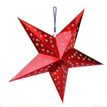 New Christmas Star String Hanging Christmas Party Tree Decoration Ornament Happy Gifts Creative Pendant Drop Ornament