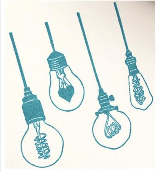 אור הנורה שקוף ברור סיליקון חותמת/חותם עבור DIY רעיונות/אלבום תמונות דקורטיבי ברור sta A356