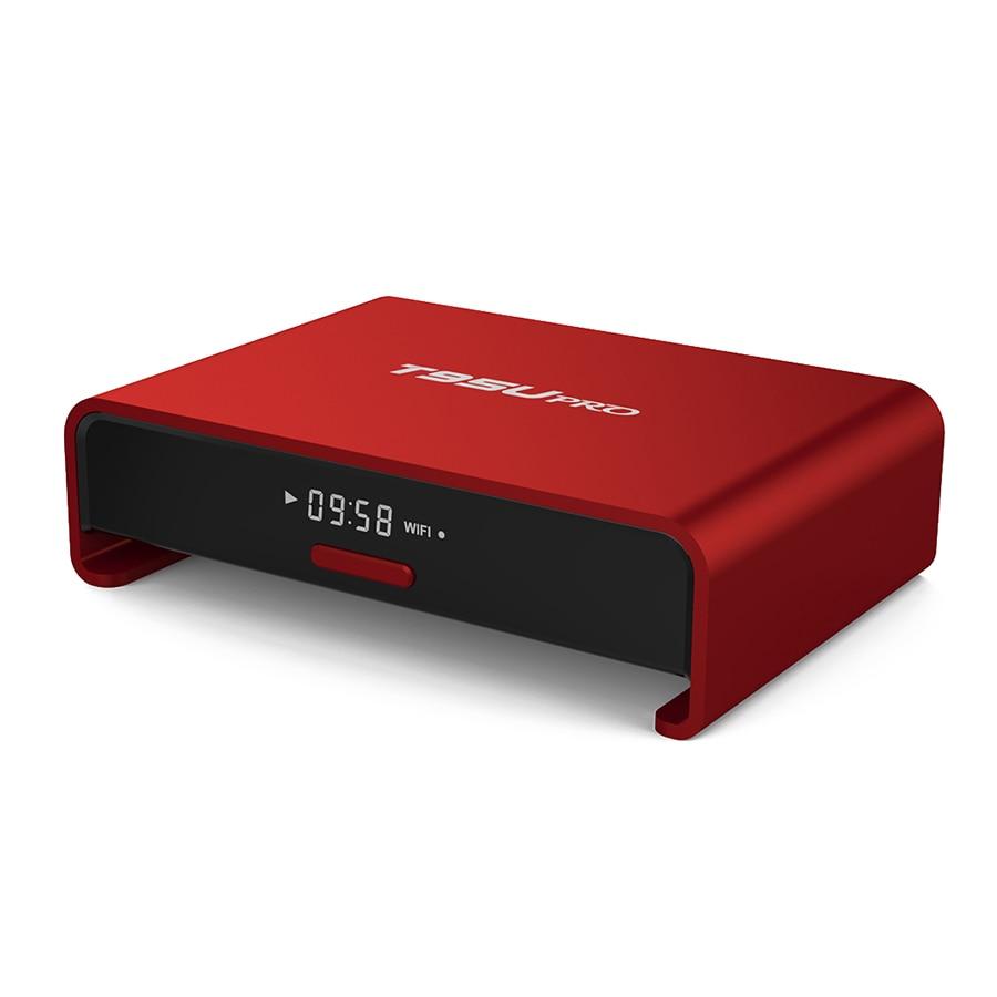 ФОТО T95U PRO Amlogic S912 Octa core ARM CortexA53 2GB/16GB Android 6.0 TV Box WiFi 2.4G/5.8G 17.0 Fully Load H.265 4K