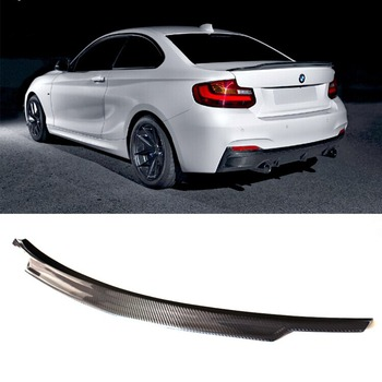 F22 C74 Styling Koolstofvezel Auto Kofferbak spoiler wing voor BMW 2 Serie 2 Deur Coupe 235i 220i 228i M235i 2014UP