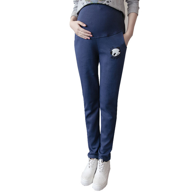 005c5ebec31a8 Sports Maternity Pants for Pregnant Women Legging Maternity Clothes Casual  Pregnancy Pants Clothing Loose Gravida Wear Autumn