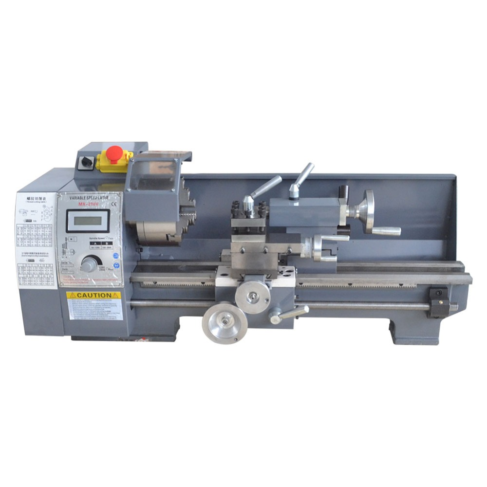 Phenomenal Us 949 0 Mini Metal Lathe Bench Variable Speed 8 X 16 750W Top Digital For Wood Working In Lathe From Tools On Aliexpress Machost Co Dining Chair Design Ideas Machostcouk