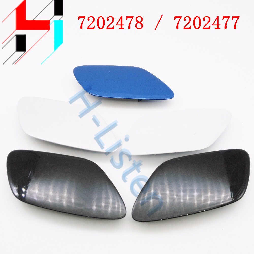Bumper Head Light Washer Cover Cap for BMW 51117202477 7202477 L 7202478 51117202478 R