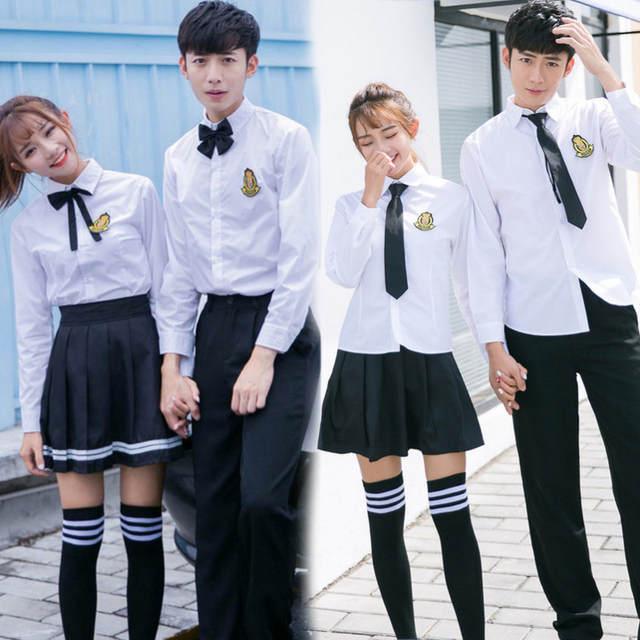 New Japanese School Uniform Boys Classic Service England Korean