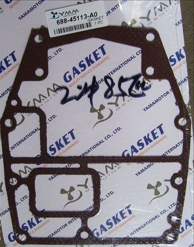Yamaha outboard motor 2 stroke 85 HP bottom of cylinder gasket 688-45113-A0
