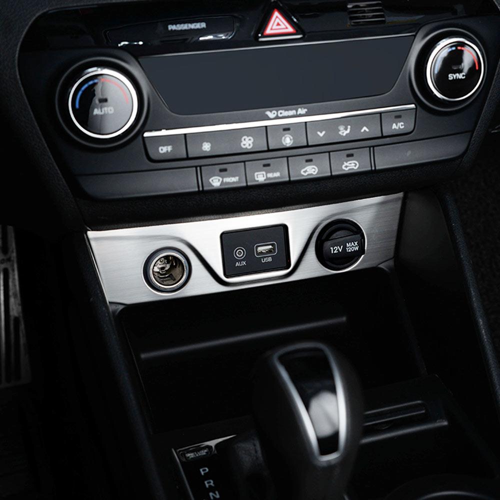 2018 Hyundai Tucson Interior: IMTFOO USB CIGARETTE LIGHTER PANEL COVER INTERIOR STICKER