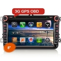 "8"" All-in-One Car Multimedia System for VW"