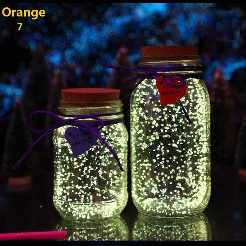 Aquarium Noctilucent Zand Night Luminous Dark Bright Glow Fluorescerende Deeltjes Aquarium Aquarium Decoratie
