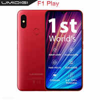 UMIDIGI F1 Play 48MP+8MP+16MP 5150mAh Mobile phone Android 9.0 6GB RAM 64GB ROM 6.3 FHD Global Version Smartphone Dual 4G