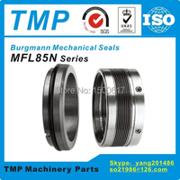 MFL85N 75 Burgmann Mechanical Seals (Material:SiC/SiC/Viton) MFL85N/75 G9 high temperature Metal bellow Seals (Shaft Size:75mm)