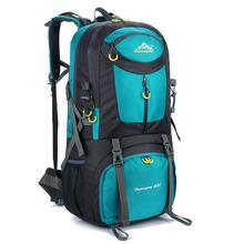 Outdoor Camping Climbing Bag 60L Sports Backpack Large Capacity Waterproof Travel Backpack 40L Rucksack 50L Hunting Hiking Bags 2017 40l waterproof nylon travel hiking backpack climbing rucksack camping equipment hiking cycling outdoor sports bag