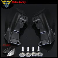 RiderJacky Motorcycle Air Deflector Trims for Harley Electra Glide Road King Street Glide FLHX 2009 2016 2012 2013 2014 2015