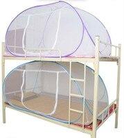 모기장 침대  핑크 블루 퍼플 학생 이층 침대 모기장 메쉬  저렴한 가격 성인 더블 침대 그물 텐트