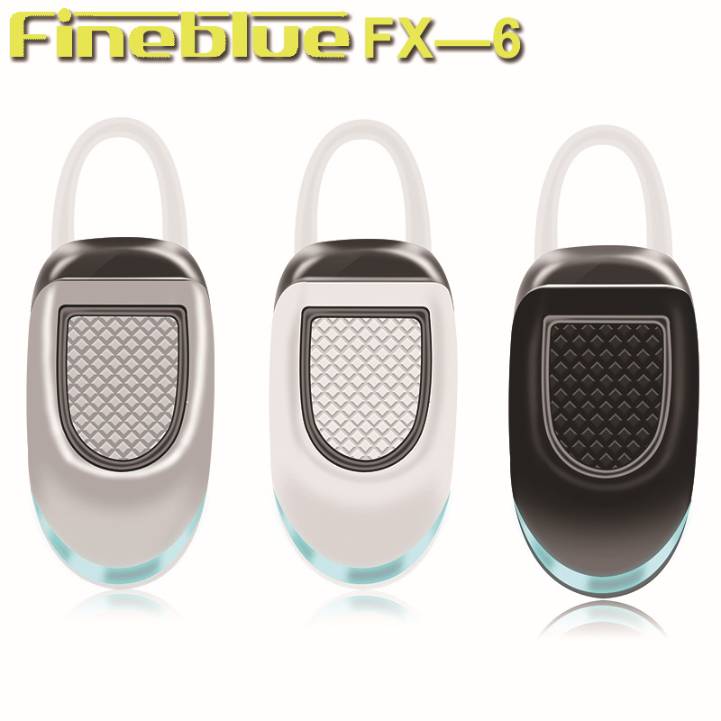 Original Fineblue FX-6 Mini Bluetooth Sports Headphones Fashion Wireless In-ear Headsets Music Earphones For Iphone Android IOS