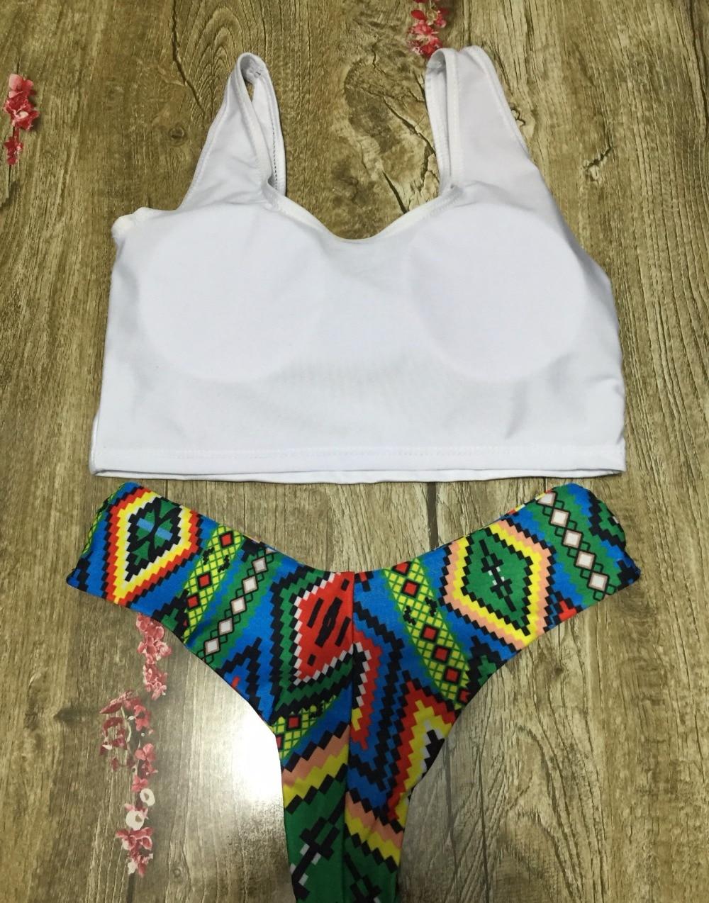 Yeni Seksual Bikini Ananas Çimərlikləri Braziliya Bikinisi - İdman geyimləri və aksesuarları - Fotoqrafiya 3