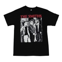 Summer Man Punk Rock T Shirt The Smith Rock Band Graphic T Shirt Red Logo Printed