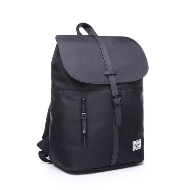 "Bodachel 2016 new style women backpack simple design 14"" notebook backpacks waterproof canvas bucket backpack sac a dos rugzak"