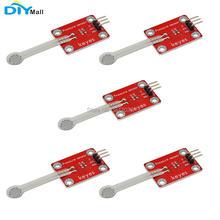 цена на 5pcs/lot DIYmall for Keyes Thin-film Pressure Sensor for Arduino micro:bit red and eco-friendly