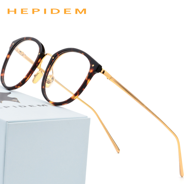 38573d076e7 Acetate Glasses Frame Men Vintage Round Oliver Prescription Eyeglasses for  Peoples Women Myopia Optical Frame Spectacles
