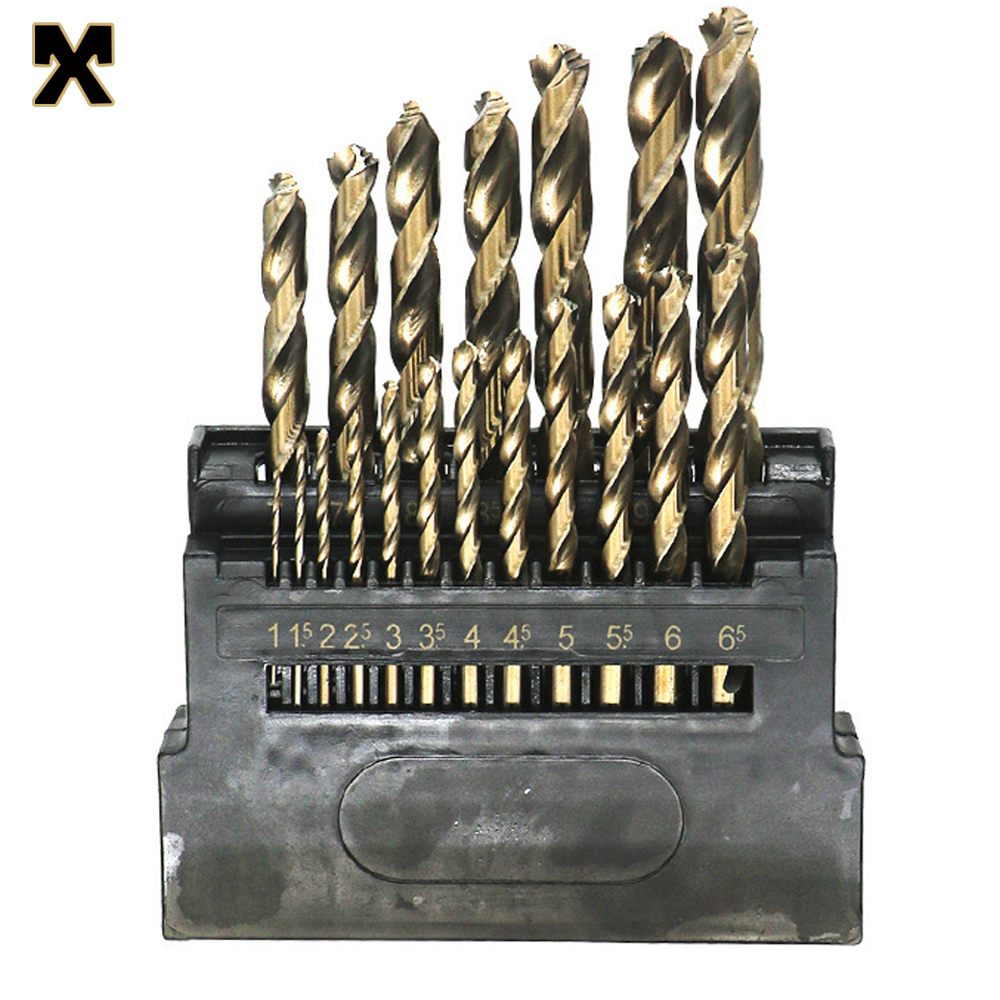 MX M42 Three-blade Twist Metal Drill Bit High Cobalt Copper Iron Aluminum Wood Stainless Steel Twist Drill Set Metal Hole Opener