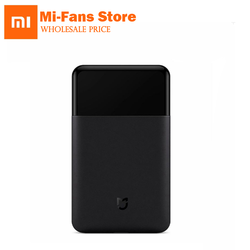 Xiaomi Mijia Shaver Portable Electric Razor Shavers USB Rechargeable 60HRC Japan Steel Mens Travel black IN