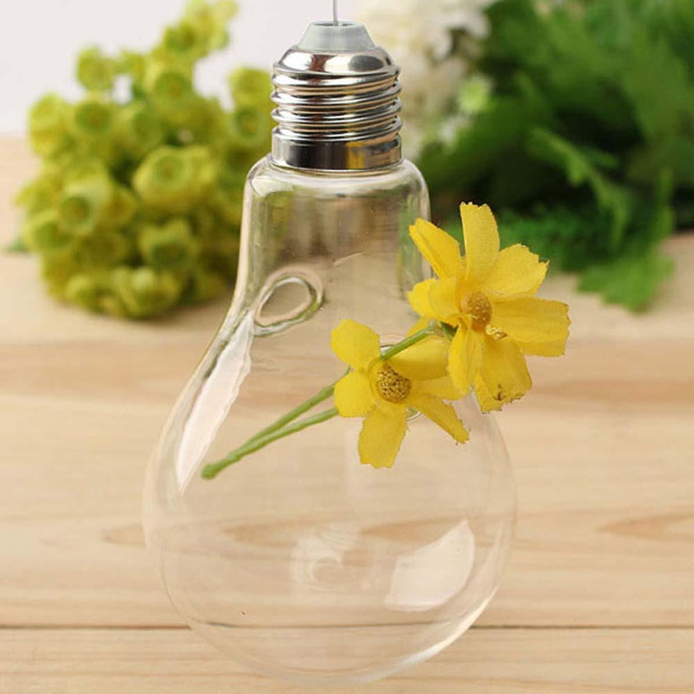 Wall Hang Glass Flower Plant Vase Terrarium Container Home Garden ...