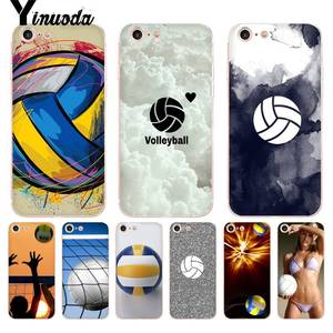 Yinuoda For iphone 7 6 X Case Sport Volleyball Coque Shell Phone Case for iPhone 8 7 6 6S Plus X 5 5S SE 5C XS XR Cover(China)