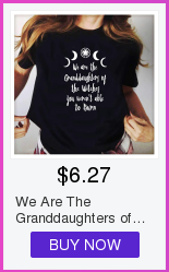 We Are The Granddaughters of The Witches Women Gothic Witchcraft Black T-Shirt Grunge Moon Shirt Summer Fashion Graphic Tees 8