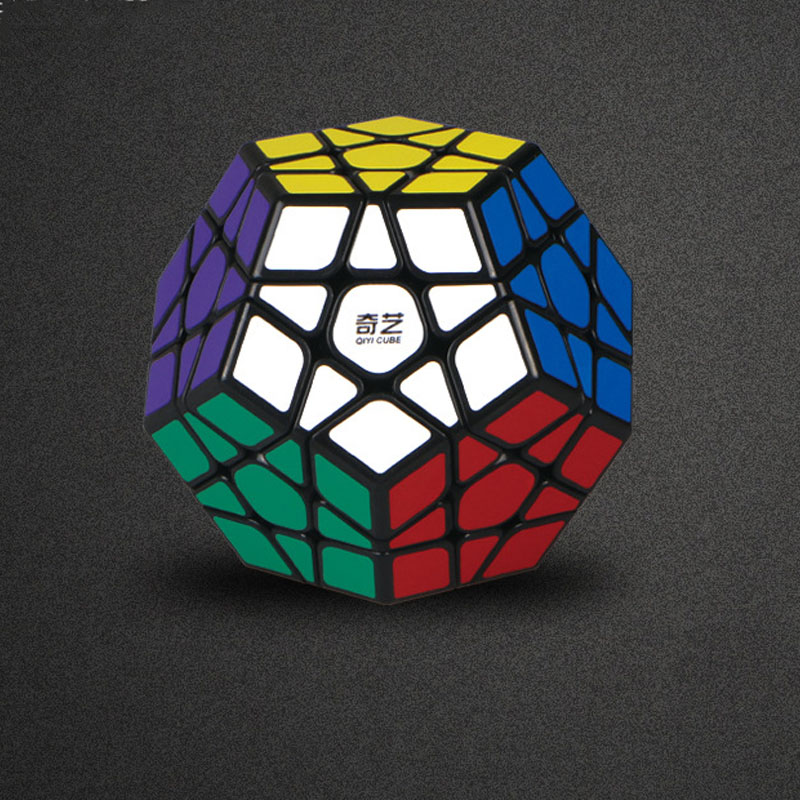 QIYI Megaminx Magic Cube Stickerless Vitesse Professionnel 12 Côtés Puzzle Cubo Magico Jouets Éducatifs pour Enfants Megamind
