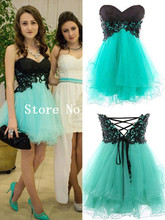 Teal homecoming dresses online shopping-the world largest teal ...