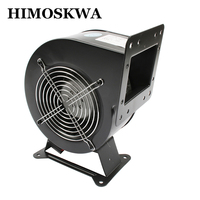 High quality 120W Small dust exhaust electric blower Inflatable model centrifugal blower air blower 130FLJ5 220V