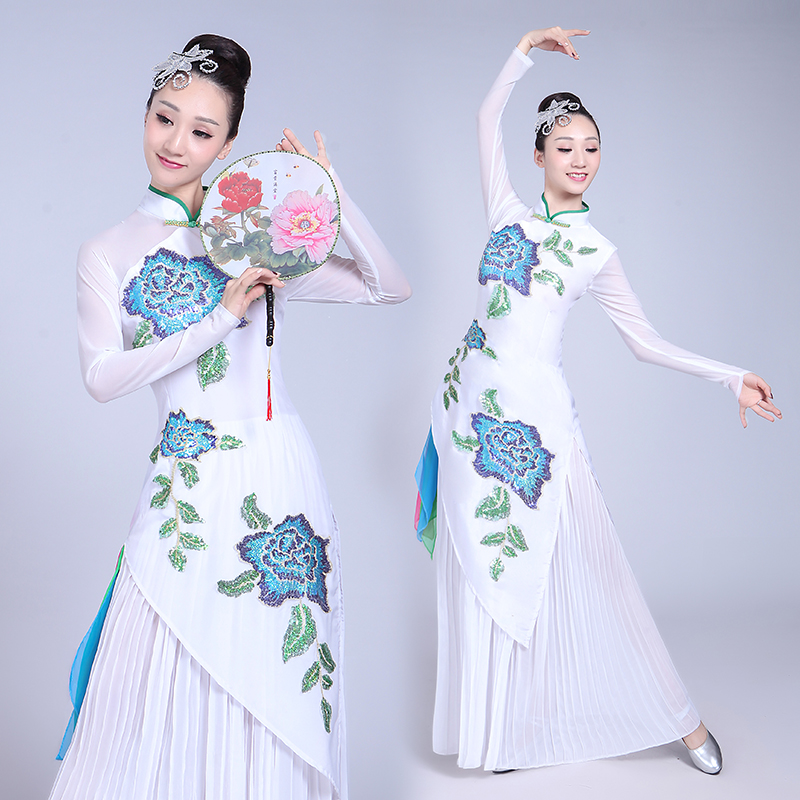 Hanfu Women Chinese Dance Costume Dancer Costume Chinese Traditional Costume Ancient Chinese Costume Hanfu Dress Stage Outfit