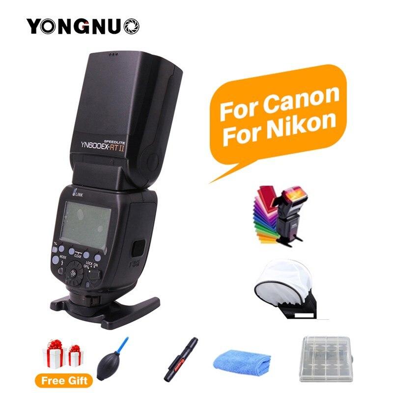 YONGNUO YN600EX-RT II TTL Master Flash Speedlite GN60 2.4G sans fil TTL HSS zoom manuel automatique pour appareil photo Canon NikonYONGNUO YN600EX-RT II TTL Master Flash Speedlite GN60 2.4G sans fil TTL HSS zoom manuel automatique pour appareil photo Canon Nikon
