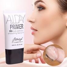 Прозрачный праймер для лица, глаз, сглаживающая матовая основа, макияж, увлажняющий Жидкий тональный крем, увлажняющий пор, макияж для лица, профессиональный