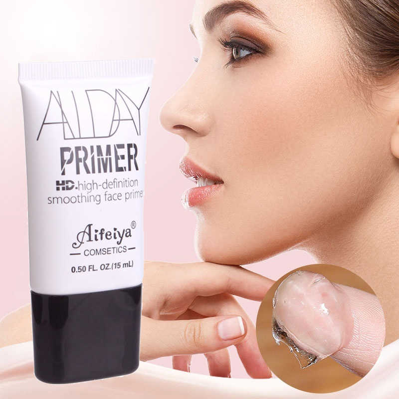 Transparent Primer Mata Smoothing Matte Dasar Membuat Pelembab Foundation Cair Pori Hydrating Facial Makeup Profesional