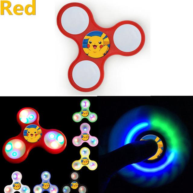 LED Pikachu Fidget Spinner