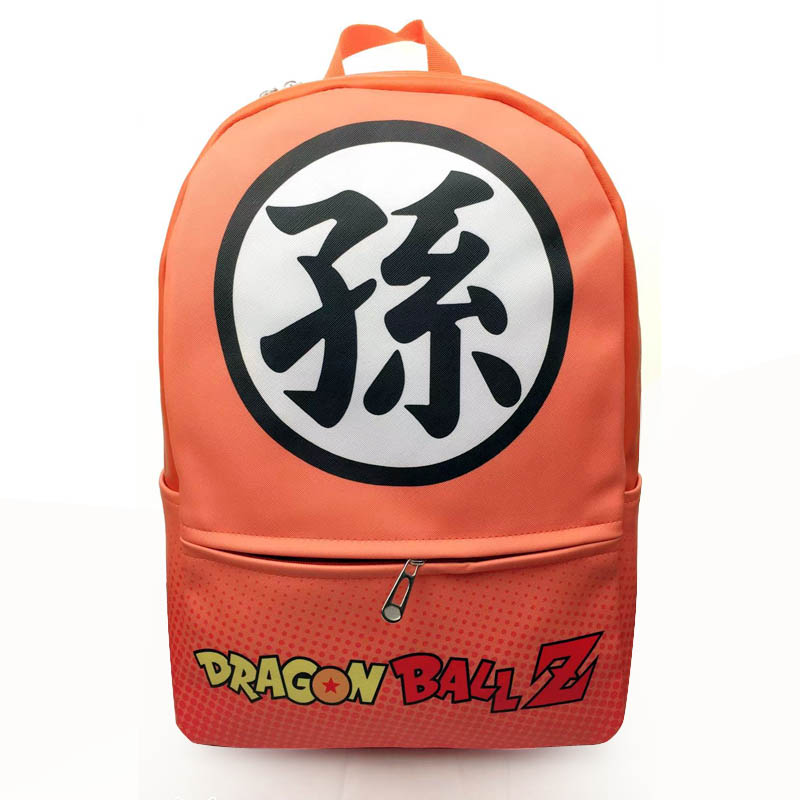 New Dragon Ball Z Goku/'s Symbol School Backpack Shoulder Bag