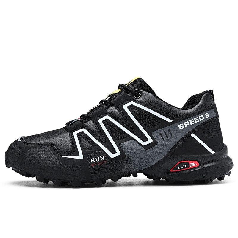 Haute qualité sk-cheri hommes chaussures Speed Cross 4 CS baskets hommes chaussures de fond noir Speedcross 4 chaussures de course
