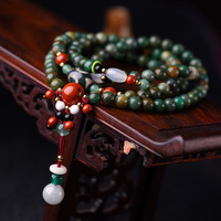 BOEYCJR 108 Natural Stone Beads Bangles&Bracelets Handmade Jewelry Charm Buddha Beads Energy Yoga Bracelet for Women 2019