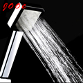 jooe Water Saving High Pressure Shower Heads square ABS with chrome Handheld  for Accessories Bathroom fixed shower